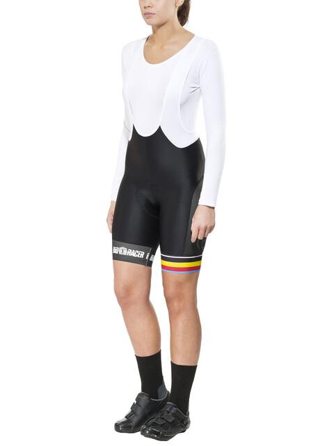 Bioracer Van Vlaanderen Pro Race Bib Short Women black